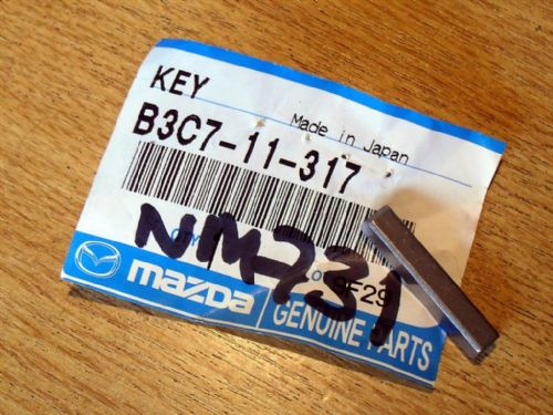 Woodruff key, genuine Mazda MX-5 09/1990 - 2005, B3C711317